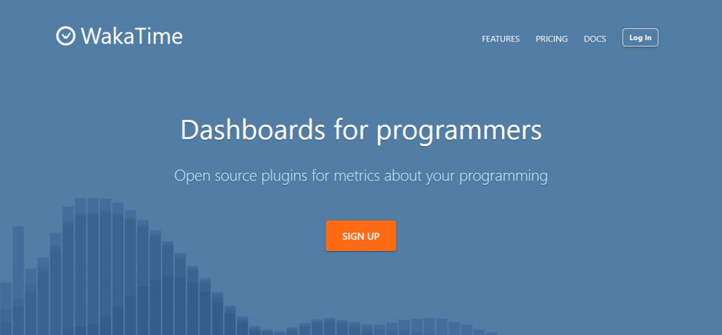 ابزار waka time برای اندازه گیری مدت زمان کار روی پروژه های برنامه نویسی